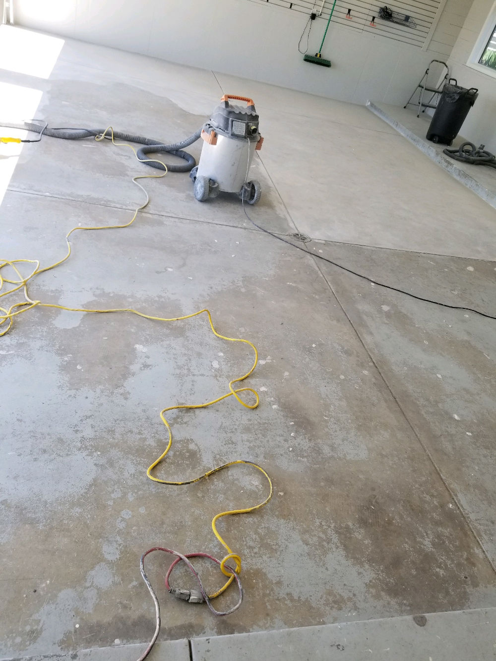 Epoxy Flooring Before